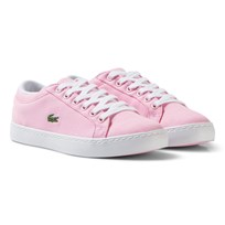 Lacoste Light Pink Straight Set Sneaker Children 15J