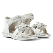 Lelli Kelly White Angelica Butterfly Sandals WHITE PATENT