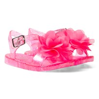 Lelli Kelly Raspberry Fiore Flower Jelly Sandals Raspberry