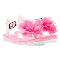 Lelli Kelly Strawberry Fiore Flower Jelly Sandals Strawberry