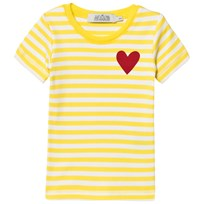 Anïve For The Minors T-Shirt Happy Yellow/White Stripes Yellow/White Stripes
