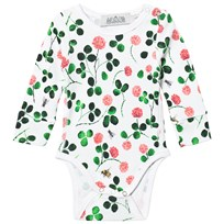 Anïve For The Minors Baby Body Clover White/Multi White/multi