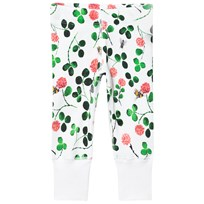 Anïve For The Minors Baby Leggings Clover Vit/Multi White/multi