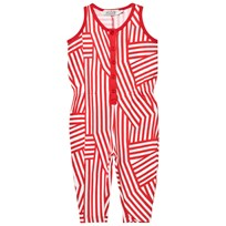 Anïve For The Minors Jumpsuit Tokyo White/Red White/Red