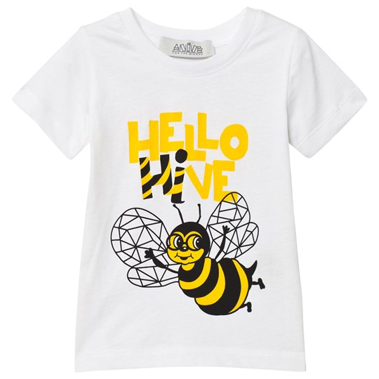 Anïve For The Minors T-Shirt Bee White White