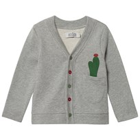 Anïve For The Minors Cardigan Cactus Greymelange Greymelange