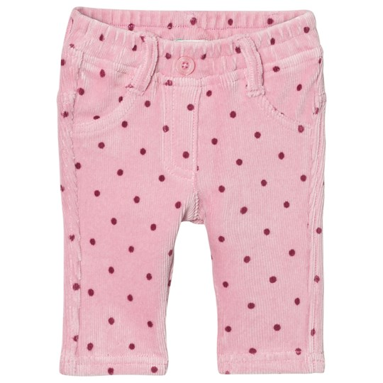 United Colors of Benetton Pink Dotted Trousers Pink
