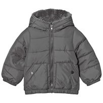 United Colors of Benetton Grey Jacket Black