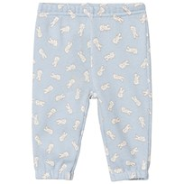 United Colors of Benetton Blue Trousers With White Teddybears Blue