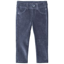 United Colors of Benetton Dark Blue Corduroy Trousers Blue