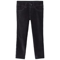 United Colors of Benetton Black Corduroy Trousers Black