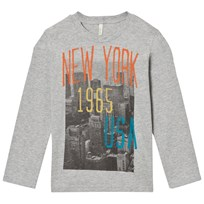 United Colors of Benetton Grey Longsleeve T-Shirt Grey