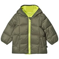 United Colors of Benetton Dark Green Puffer Jacket Green
