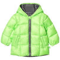 United Colors of Benetton Light Green Puffer Jacket Green