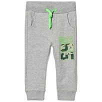 United Colors of Benetton Grey Sweatpants Black