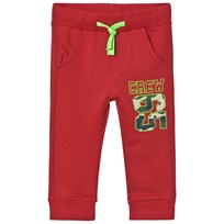 United Colors of Benetton Dark Red Sweatpants Punainen