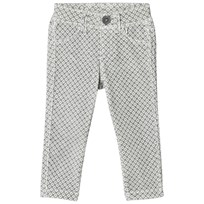 United Colors of Benetton Grey/White Trousers Musta