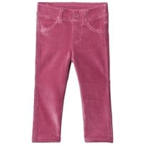 United Colors of Benetton Purple Corduroy Trousers Purple