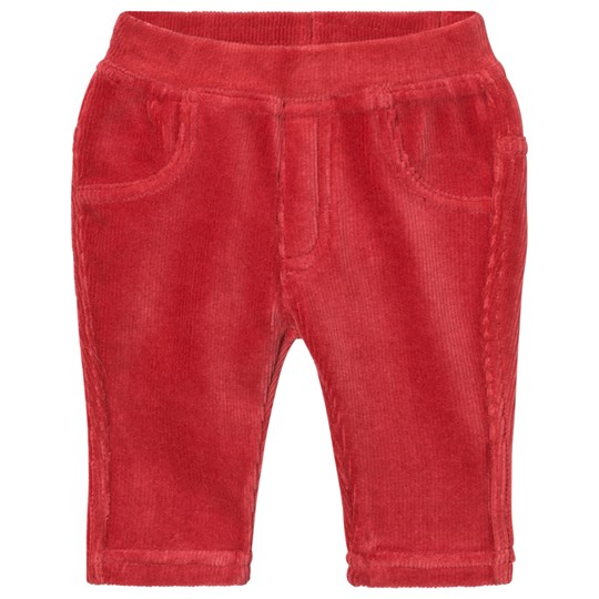 United Colors of Benetton Red Corduroy Trousers Red