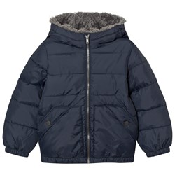 United Colors of Benetton Dark Blue Puffer Jacket