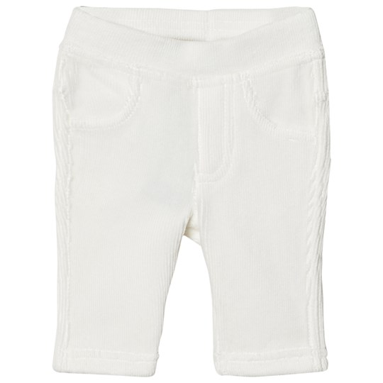 United Colors of Benetton White Corduroy Trousers White