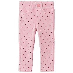 United Colors of Benetton Light Pink Corduroy Trousers