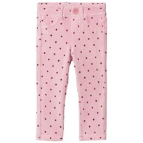 United Colors of Benetton Light Pink Corduroy Trousers Pink