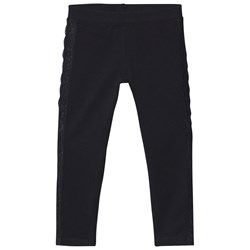 United Colors of Benetton Black Embroidered Leggings