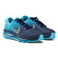 NIKE Blue Air Max 2017 Junior Trainers BINARY BLUE/WHITE-CHLORINE BLUE