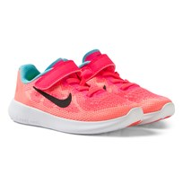 NIKE Free RN 2 2017 (PSV) Sneakers Racer Pink/Lava Glow RACER PINK/BLACK-LAVA GLOW-PURE PLATINUM