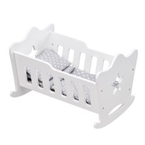 Kids Concept Doll Cradle White