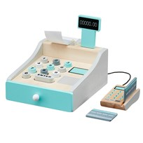 Kids Concept Wooden Toy Cash Register White