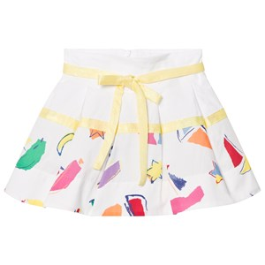 Image of Simonetta Sailing Print Cotton Skirt 2 years (727181)