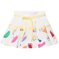 Simonetta Sailing Print Cotton Skirt GG540 100FU