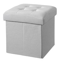 Kids Concept Star Stool/Storage Box Grey Grey
