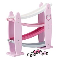 Kids Concept Turbo Pink Car Track Rosa