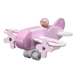 Kid's Concept Airplane Pink