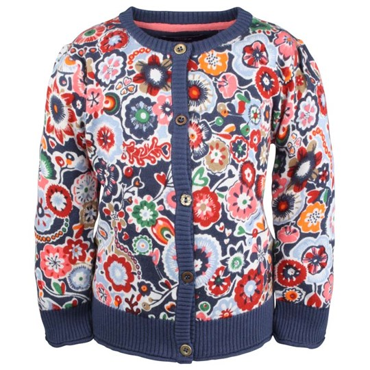 Mexx Mini Girls Sweater Flower Blue