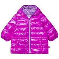 United Colors of Benetton Purple Puffer Jacket Purple