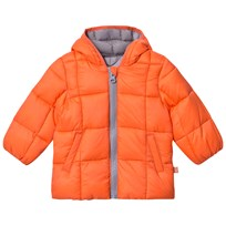 United Colors of Benetton Orange Puffer Jacket Oranssi