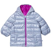 United Colors of Benetton Light Grey Puffer Jacket Musta