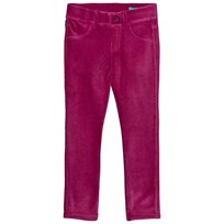 United Colors of Benetton Wine Red Corduroy Trousers Red
