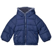 United Colors of Benetton Dark Blue Puffer Jacket Blue