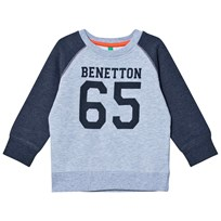 United Colors of Benetton Dark/Lightgrey Sweatshirt Black