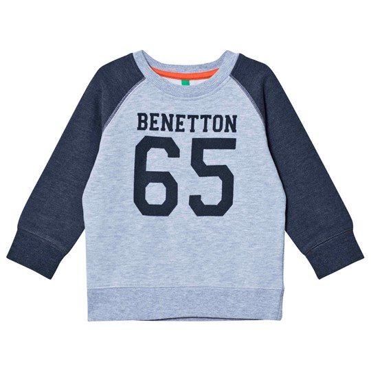 United Colors of Benetton Dark/Light Grey Sweatshirt Sort