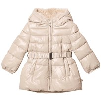 United Colors of Benetton Beige Puffer Jacket Beige