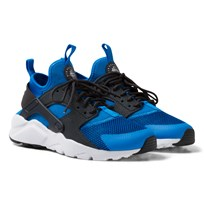 NIKE Blue Huarache Run Ultra Junior Trainers PHOTO BLUE/ANTHRACITE-WHITE-WHITE