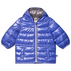 United Colors of Benetton Blue Puffer Jacket