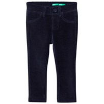 United Colors of Benetton Manchesterbyxor Svart Black