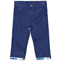 United Colors of Benetton Dark Blue Chinos Blue